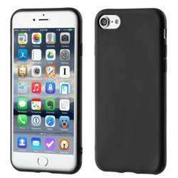 Żelowe etui case soft matt iPhone 8 / 7 czarne