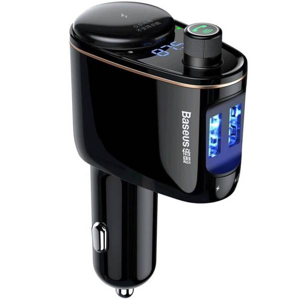 Poważne Baseus Transmiter FM Bluetooth ładowarka 3.4A | Producenci ST59