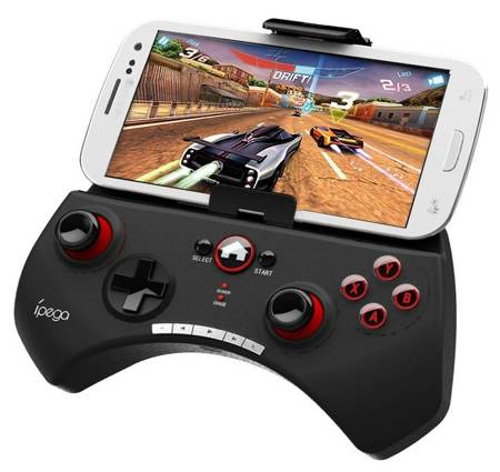 Kontroler GamePad bluetooth uchwyt PUBG android PC